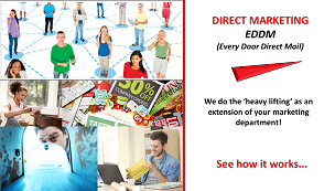 Direct Marketing--EDDM (Every Door Direct Mail)